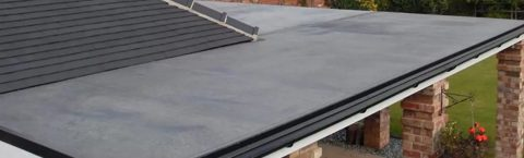 EPDM Rubber Roof Specialists in Long Newton